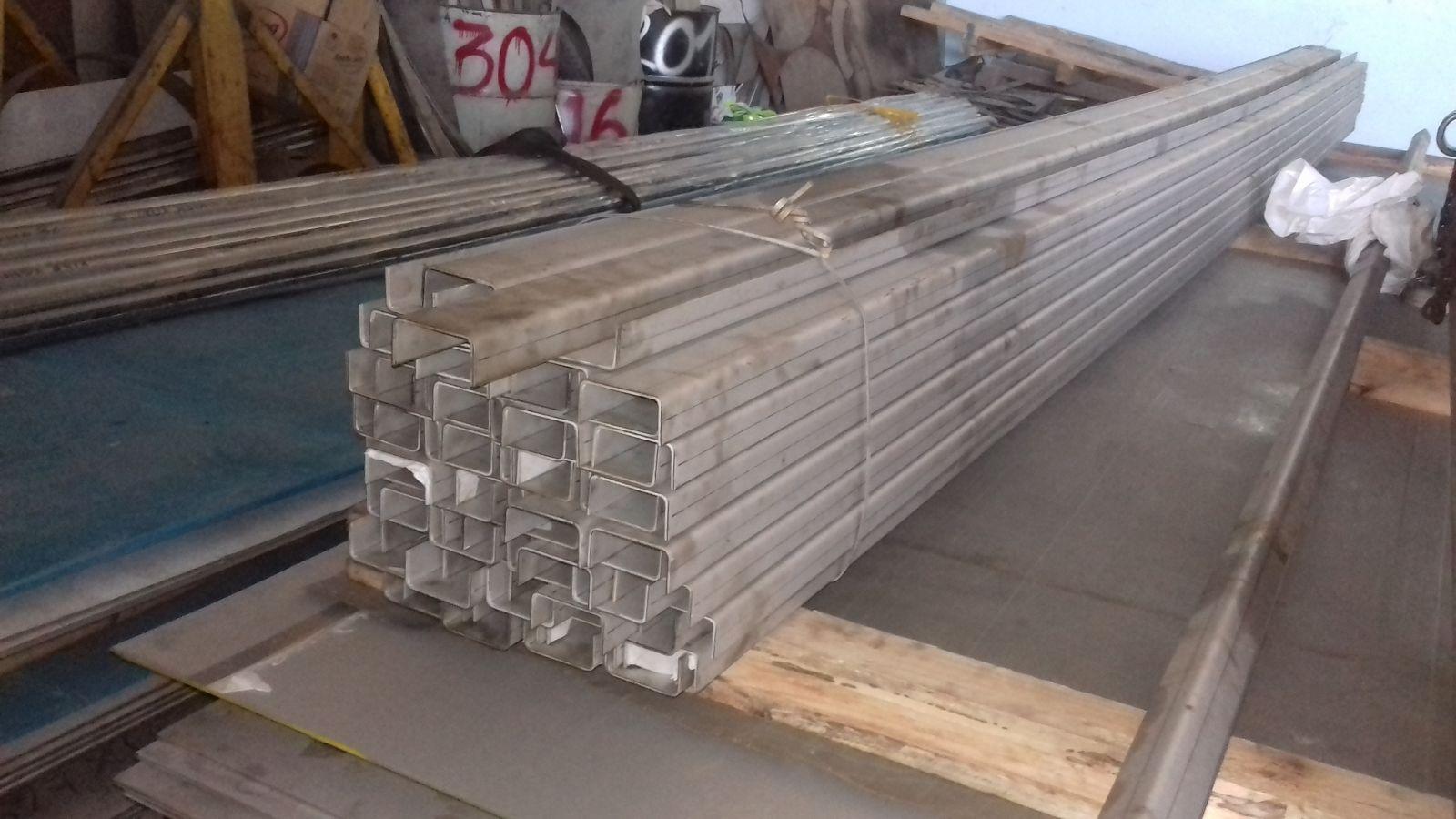 Supply stainless steel , U Bar 304, 201, 316,/BA, 2B, No1