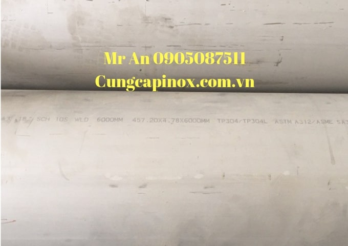 Supplying pipeline of DN 450, Phi  , sch10