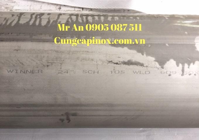 Cung cấp inox ống hàn 304, 316  ASTM- A 321 ,  DN 600 ( Phi 609 x 6,35 x 6000 ) giá tốt .( Winer , Sinco , Superinox , Y C )