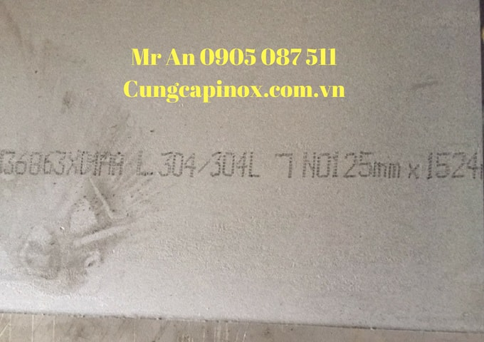 Supply stainless steel plates 304, 25 mm x 1524 x 6096/No1 - Taiwan, China, Malaysia , good price