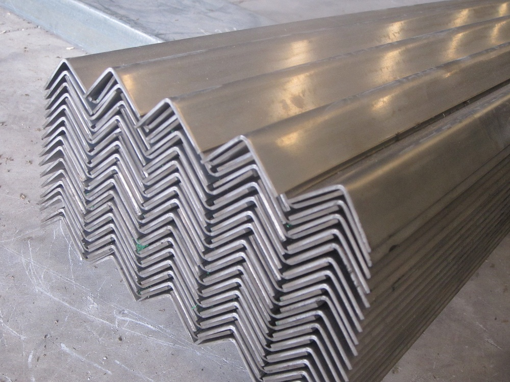 Supply stainless steel angle 304, 201, 316 /BA,2B,No1